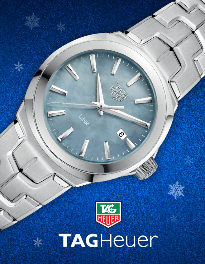 TAG Heuer silver watch