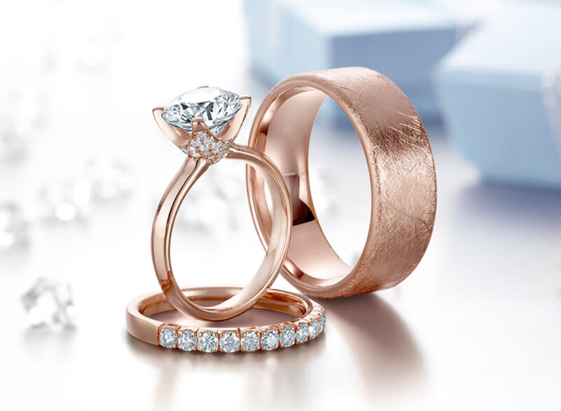 Crown Ring Wedding and Engagement Rings