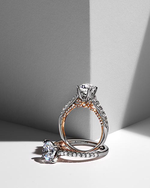 2 Diamond Engagement Rings