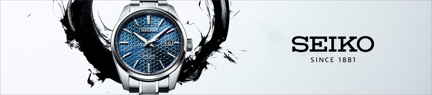 Show your style with a Seiko watch.