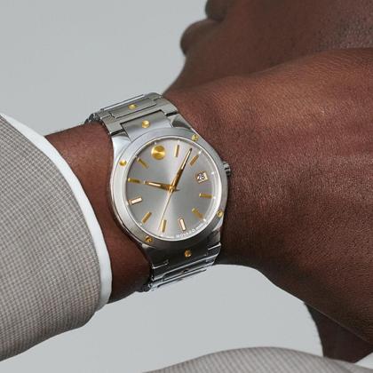 mens watch on wrist