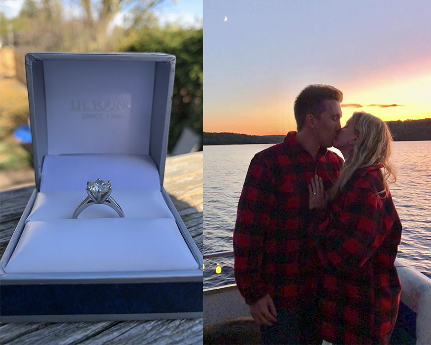 Mitch and Britney's love Story & an engagement ring