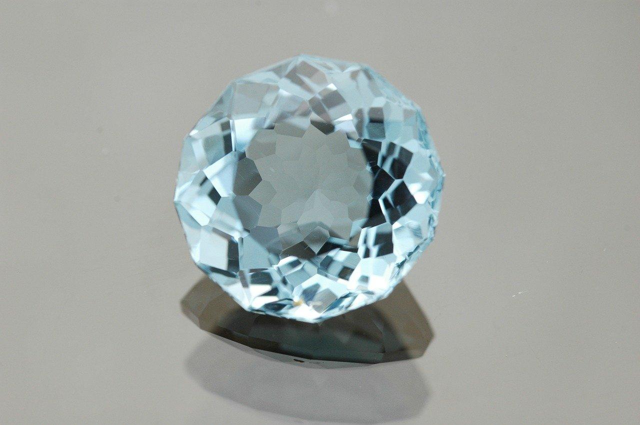 Jewel kept on table