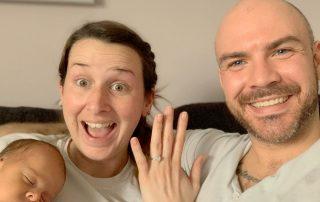 John and Amanda Custom Engagement Ring
