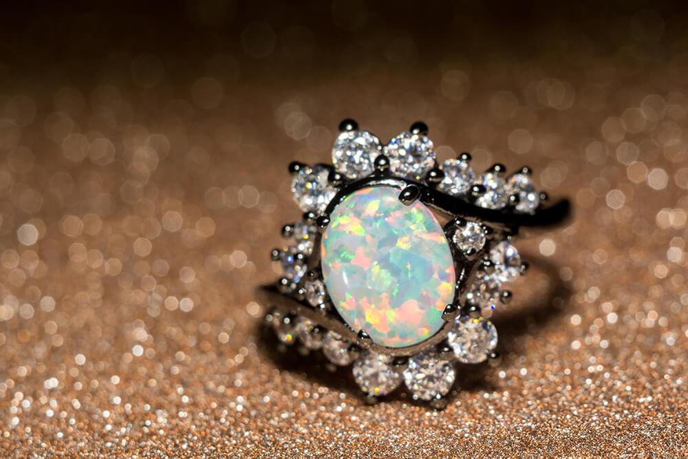 Opal Jewellery Ring